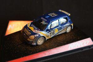 Ninco-Gauloises-Renault-Clio-Super-1600-2002-1-32-114-Jean-Joseph-Boyere