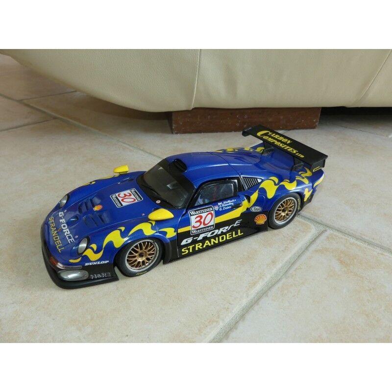 PORSCHE 911 GT1 G-FORCE N°30 FIA GTC LAGUNA SECA 1997 UT MODEL 1 18 12ème sans b