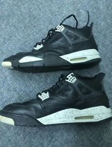 100% authentic 9e65d 8a979 Details about Used pair of original 1999 Nike Air Jordan Retro IV 4 Oreo  Mens Size 12