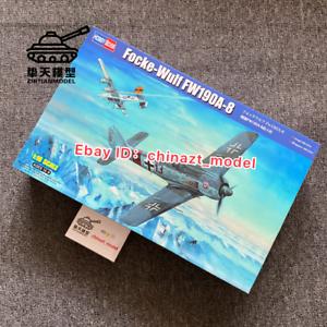 HobbyBoss 81803 1//18 Focke-Wulf FW190A-8 Military Aircraft Assembly Model Kit