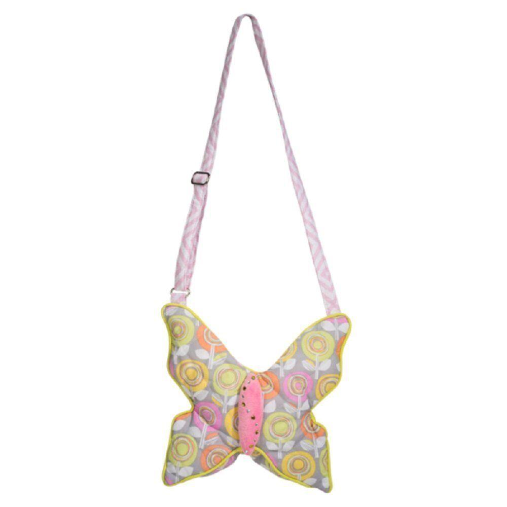 DOUGLAS Cuddle Toys Pastel Garden Butterfly Sillo Purse - 2255 NEW