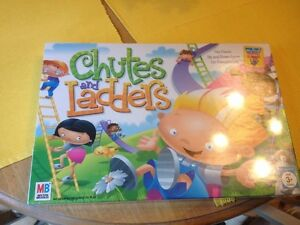 CHUTES-AND-LADDERS-Board-Game-New-Factory-Sealed-Milton-Bradley-2005