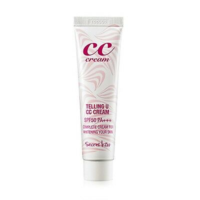SECRET KEY - Telling U CC Cream SPF50/PA+++ 30ml / All-in-one cream /