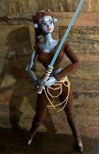 Star-Wars-Clone-Wars-AAYLA-SECURA-1-6-OOAK-Custom-Figure-Volks-Momoko-Jedi