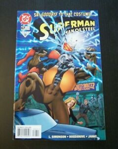 """Superman The Man of Steel #67 """"Say Goodbye to the Costume"""" DC Comics Unread 1997"""