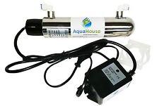 ULTRA Violet 12w sistema di trattamento delle acque UV 4lpm filtro sotto lavandino STERILIZZATORE