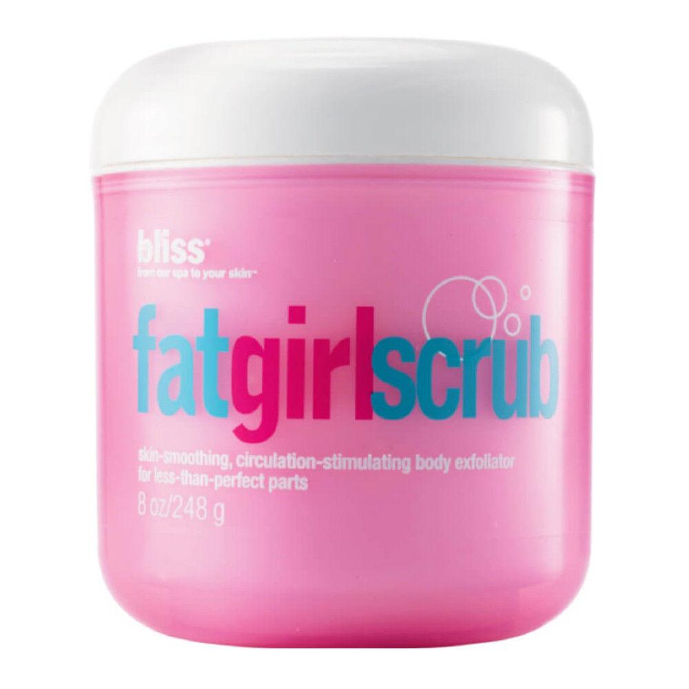 Bliss Fat Girl Scrub Body Exfoliator 8 Oz No Box For Sale Online