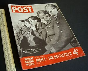 Home-Front-034-Picture-Post-034-Photo-News-Magazine-WW2-Vintage-1-May-1943