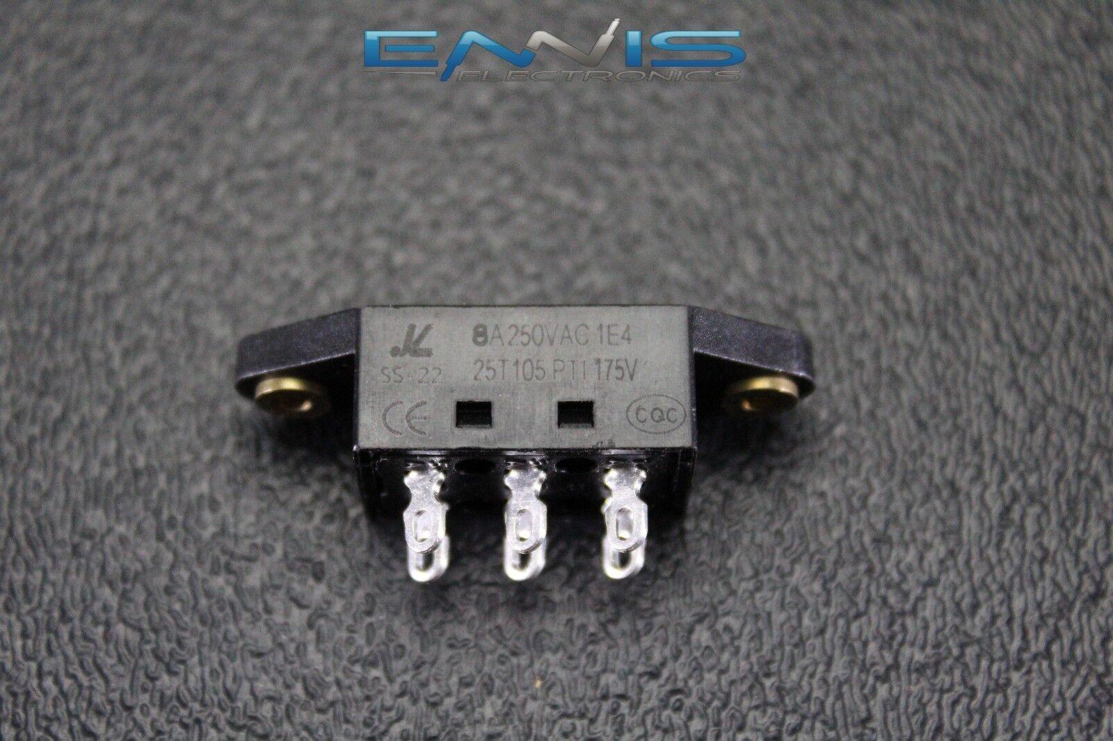 2 PCS Voltage Switch 110V//220V 8 AMP 250V 6 PIN Toggle Rocker ON Off VS-1122