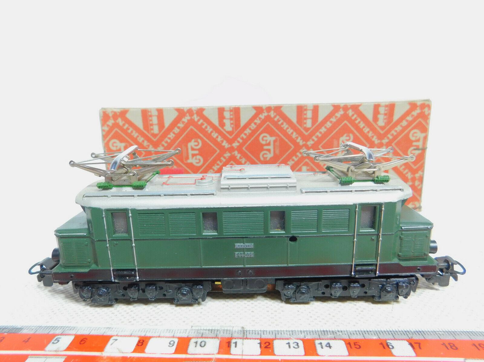 By325-2Märklin H0 Ac Set 800 3011 Guss-E-Lok E 44 039 Db Wide Ve, Good +Box