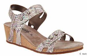 Mephisto Minoa wedge sandals size 37 us