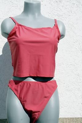 2018/19 Stagione 420305 Gourami Marchi Travi Tankini Bikini Slip Rosa Nuovo In 42-mostra Il Titolo Originale Altamente Lucido