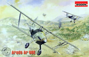 Roden-1-48-Modele-Kit-427-Arado-Ar-68E-3x-Legion-Condor-1x-Luftwaffe