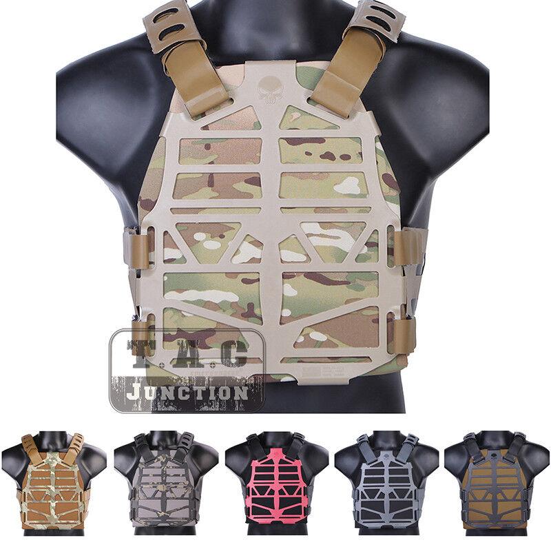 Emerson Tactical Skeleton Armor Frame Plate Carrier Vest +  Plates Lightweight  wholesale store