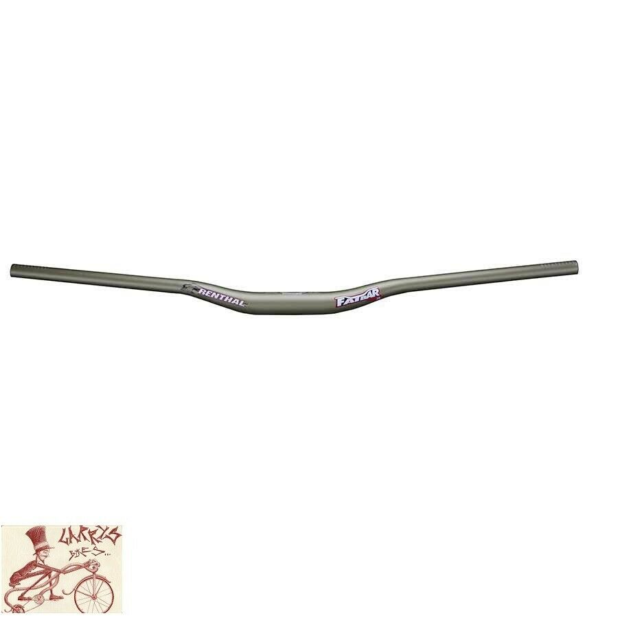 RENTHAL FATBAR 35 35mm X 800mm X 20mm oro Mountain Bike manillar de subida