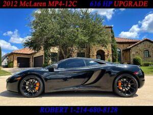 2012 McLaren MP4-12C McLaren MP4-12C V8 TWIN TURBO 616HP