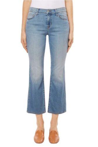 J 27 merk Bootcut Mid maat Jeans Baleaar228Nwt Crop Authentieke Selena rise Imfv7Y6bgy