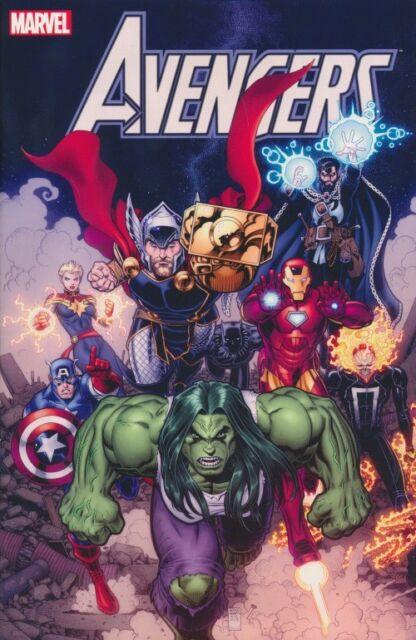 Avengers (2019) Nr. 1 Variant C zum Marvel-Tag