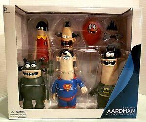 Aardman-DC-Nation-Action-Figures-5-Pack-Box-Set-New-in-Box-Batman-Robin-Joker