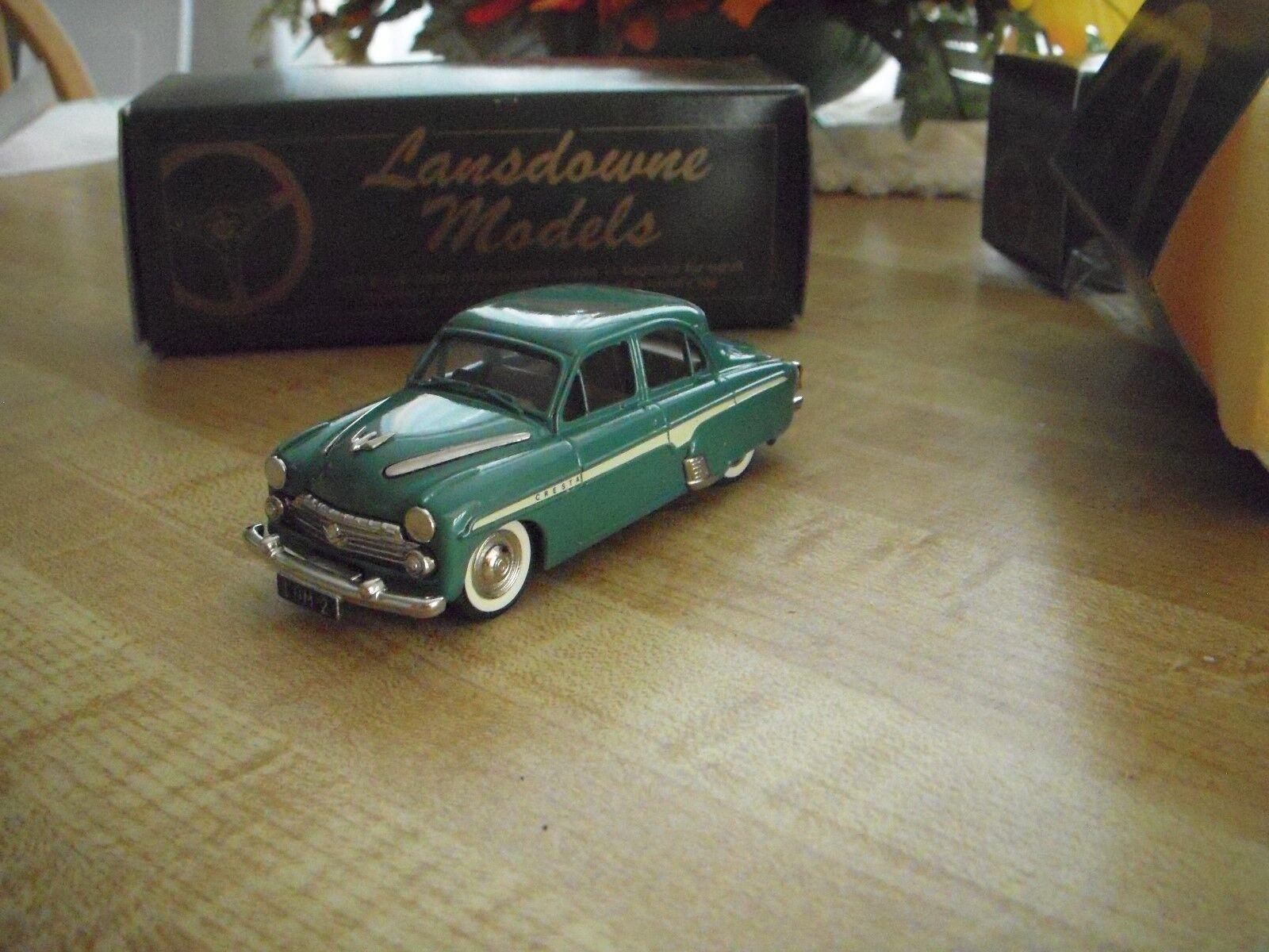 Vauxhall Cresta British Toy Car Lansdowne Models (Brooklyn) O Guage Guage Guage Train Accy 1ea305