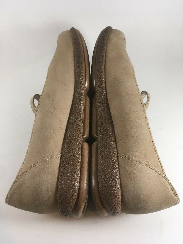 Dansko Mary Jane Comodidad Zapatos Luz Color Beige Bronceado Cut-Out 7.5-8 Diseño talla 38 mujeres 7.5-8 Cut-Out 0434f2