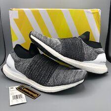 b0415936858 Mens adidas Ultra Boost Laceless Oreo Running White Core Black ...
