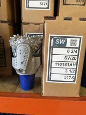 6 34 Sw20 517x Tci Drill Bit Hdd Waterwell Oilfield Tricone 3 12 Api Reg Pin