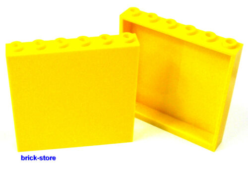 Wand Panele  gelb LEGO® 1x6x5  Fenster 2 Stück