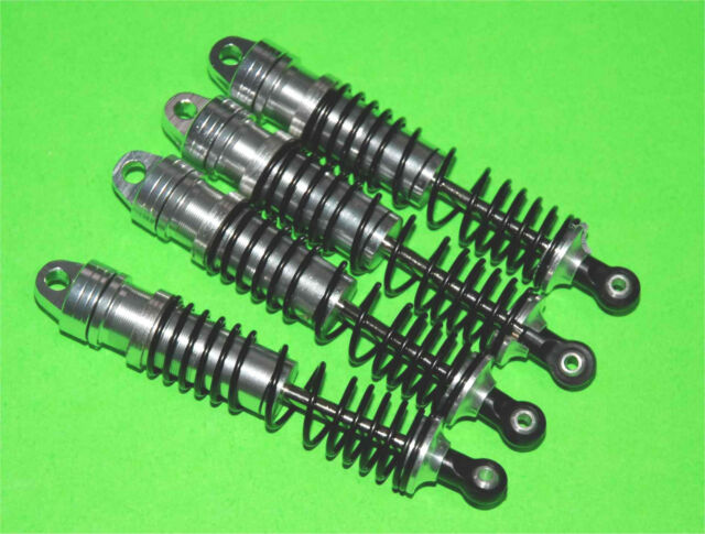Aluminum Threaded Damper Shocks for HPI Mini Savage XS Flux !! Sil