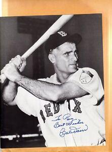Bobby Doerr-signed photo