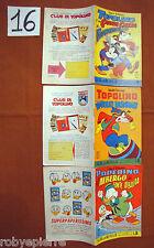 Lotto 3 Albi della Rosa 1962 Walt Disney n 406 417 422 Topolino e Paperino vendo