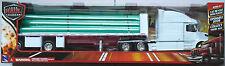 Newray-volvo vn-780 tubos transportadores Truck/camión blanco 1:32/pista 1 nuevo/en el embalaje original