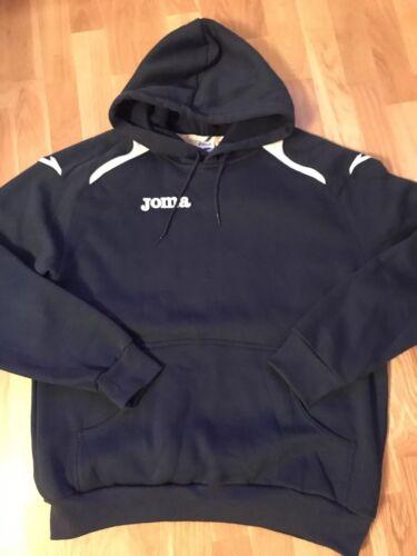 Mens Joma Champion II Hoodie Sweatshirt Navy XL New