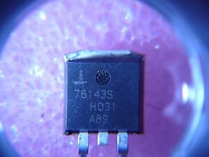 Details about INTERSIL HUF76143S3S Power Mosfet 75A 30V N-CH 0 0055Ω Ohm  Logic Level *1/PKG*