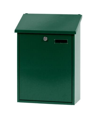 Grün h 44,5 cm Wandbriefkasten