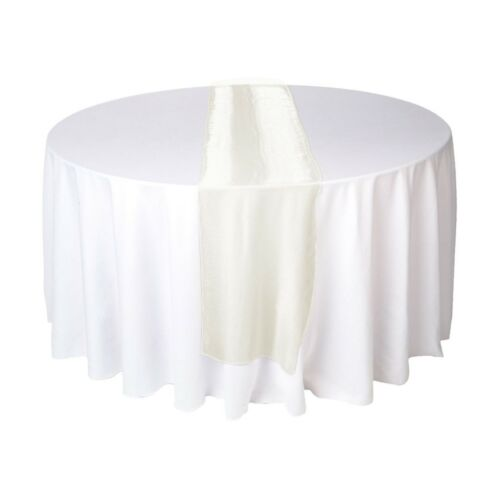 Organza Roll Fabric Wedding Party Decor Chair Bows Table Runner Sash 30 x 275cm