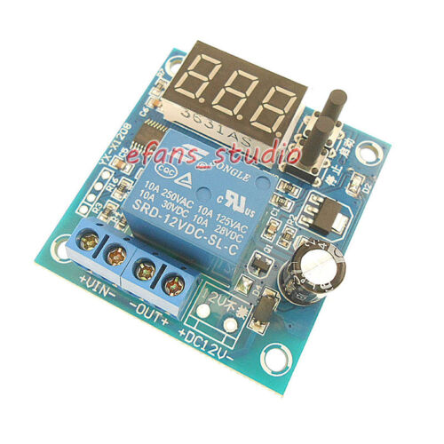 Digital Led 12V Battery Low Voltage cut off Switch Controller Protection Board