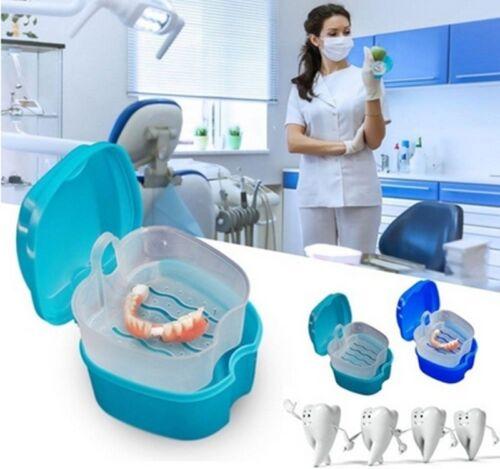 Gebiss Kasten Reinigungs-Schalen-zahnmedizinischer Halter Denture Box Holder