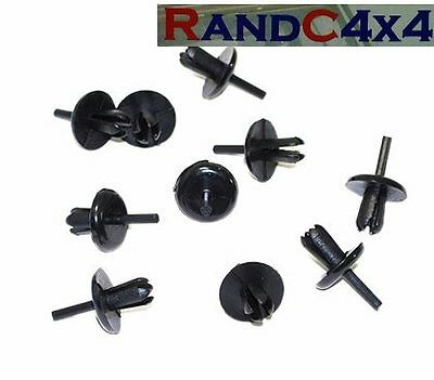 LAND ROVER DEFENDER 90 110 130 WHEEL ARCH CLIPS PACK OF 60 AFU1075 REF ONLY .