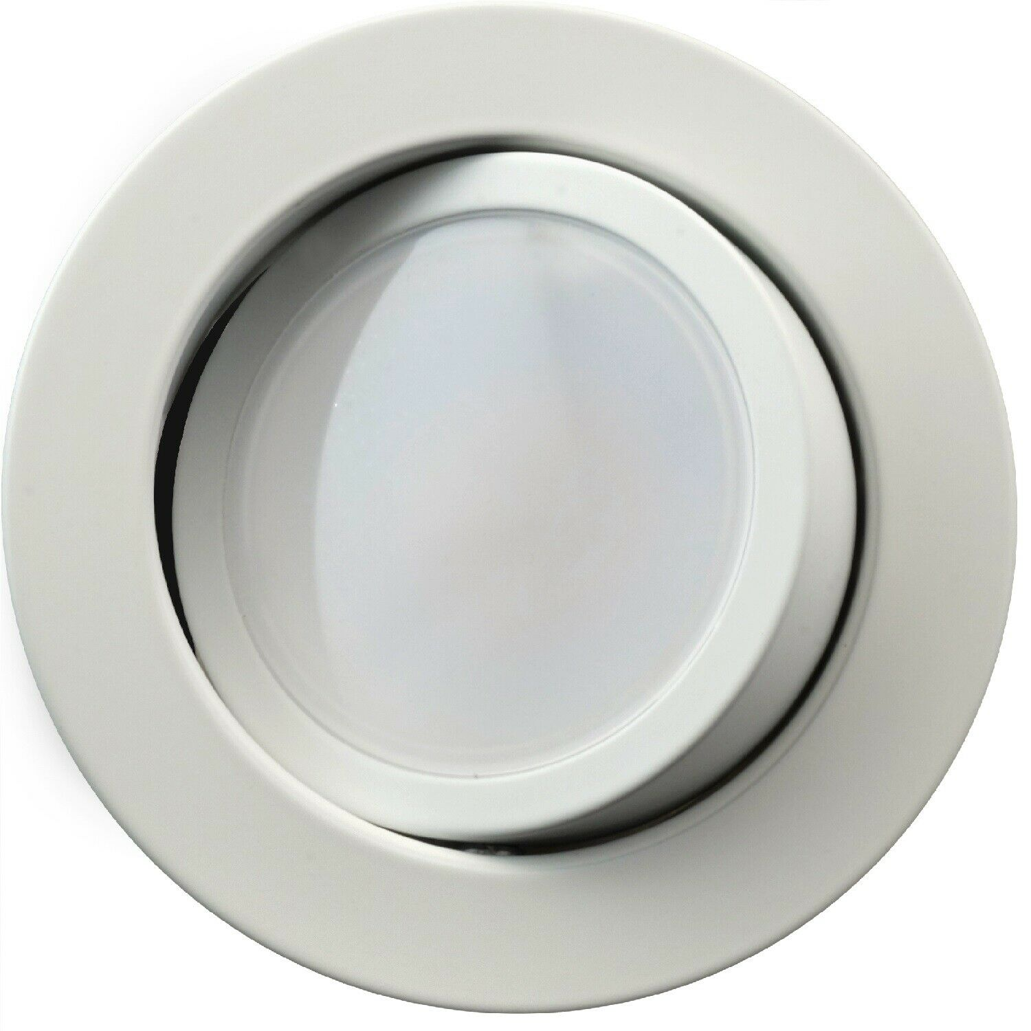 Nicor 4 pulgadas LED Downlight De Cardán Kit de actualización, acabado blancoo 3000K Regulable