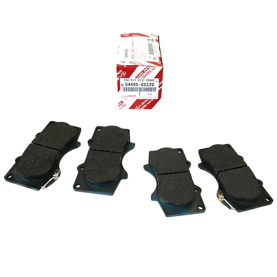 TOYOTA OEM FACTORY FRONT AND REAR BRAKE PAD SET 2010-2018 4RUNNER