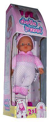 Conscientious Lokotoys Dolls & Travel Puppe Mit Buggy/kinderwagen Puppen