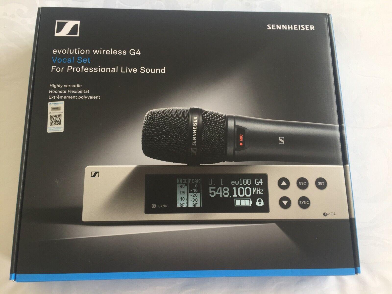 SENNHEISER EW 100 G VOCAL SET