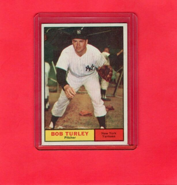 1961 NY Yankees Picture Pack Bob Turley