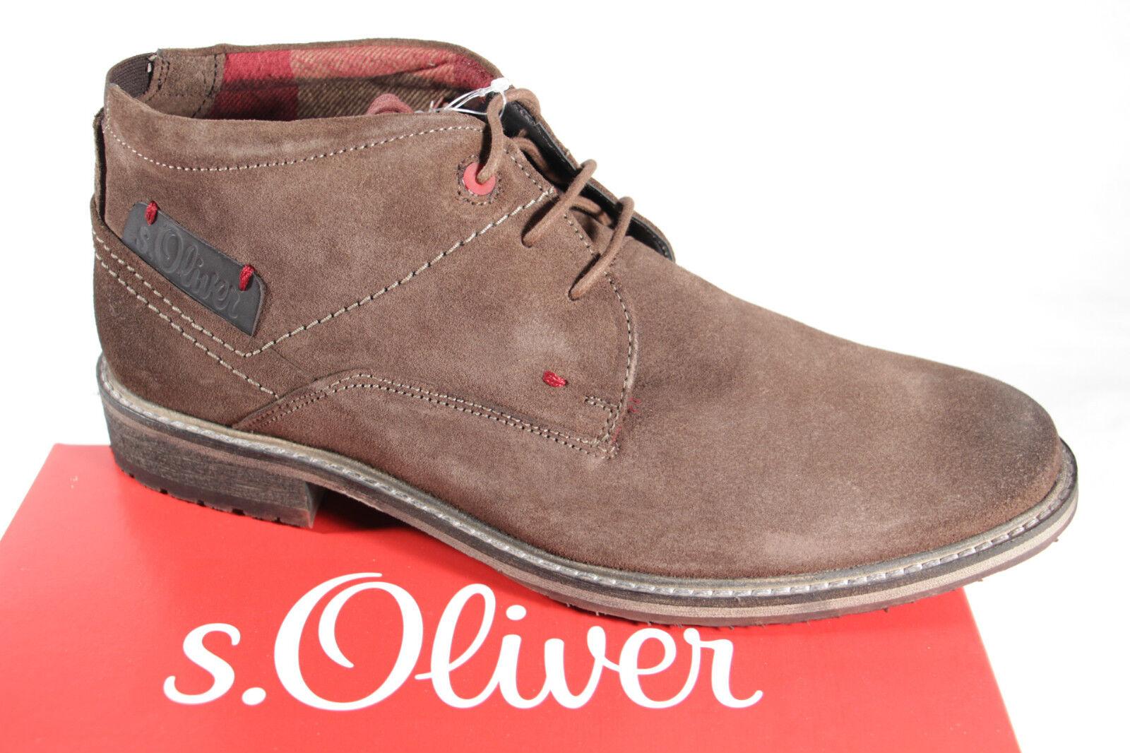 S. Oliver Oliver S. ata, marrón, Karo forraje, pu-suela nuevo 093981