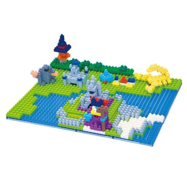 Kawada Dragon Quest Nanoblock Puzzle Block Dragon King Castle Square Enix Japan