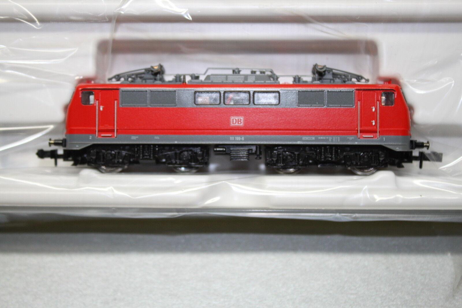 Minitrix 12759 elok serie 111 199-6 DB rosso pista n OVP