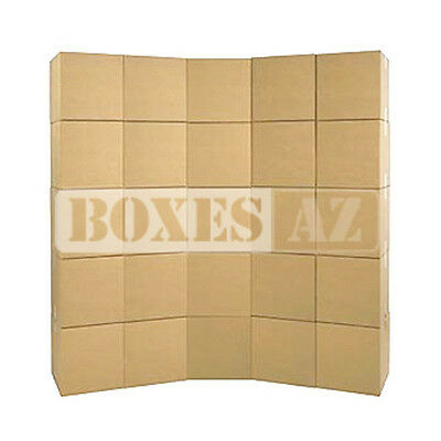 """Moving Boxes - Small Moving Boxes 16x10x10"""" (25) - Delivered FREE 1-3 Days"""