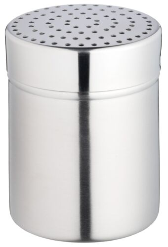 farine tamis Shaker-Medium Trou Kitchen Craft en acier inoxydable sucre glace
