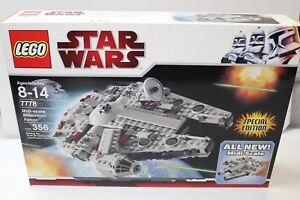 LEGO-7778-Star-Wars-Midi-Scale-Millennium-Falcon-NIB-FREE-SHIPPING